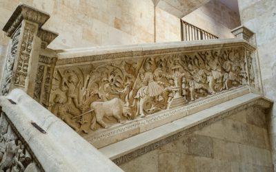 Escaleras para visitar en Salamanca